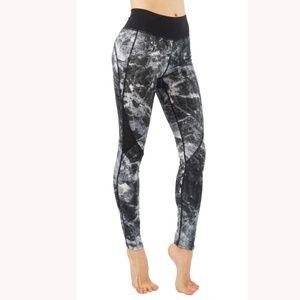 Yoga pants workout leggings mesh cutouts LY6235-5